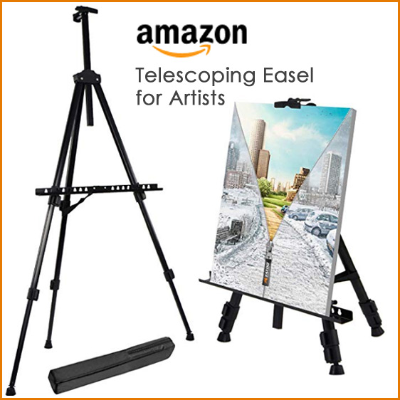 best portable telescoping easel for painting plein air