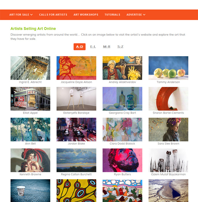 Promote Your Art On Artshow Com Website Promotion For Artists